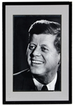 Stunning Original and Signed Art Rickerby John F. Kennedy Photograph