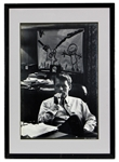 Stunning Original and Signed Art Rickerby Robert F. Kennedy Photograph