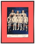 Mercury Seven Signed Photograph JSA