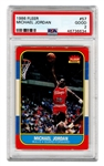 1986-87 Fleer #57 Michael Jordan Rookie Card