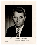 Robert F. Kennedy Signed Photograph JSA