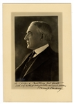 President Warren G. Harding Signed and Inscribed Photograph JSA