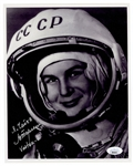 Valentina Tereshkova Signed Photograph JSA