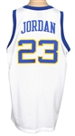 Michael Jordan Signed Laney High School Basketball Team Jersey JSA