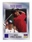 1996 Sports Illustrated SI For Kids Tiger Woods RC ROOKIE 536 12/96