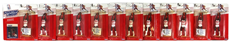 1988 Kenner Starting Lineup Michael Jordan Rookie Figures