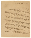 James Monroe Handwritten Letter to John Quincy Adams JSA